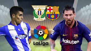 مشاهدة مباراة برشلونة وليغانيس بث مباشر بتاريخ 20-01-2019 الدوري الاسباني