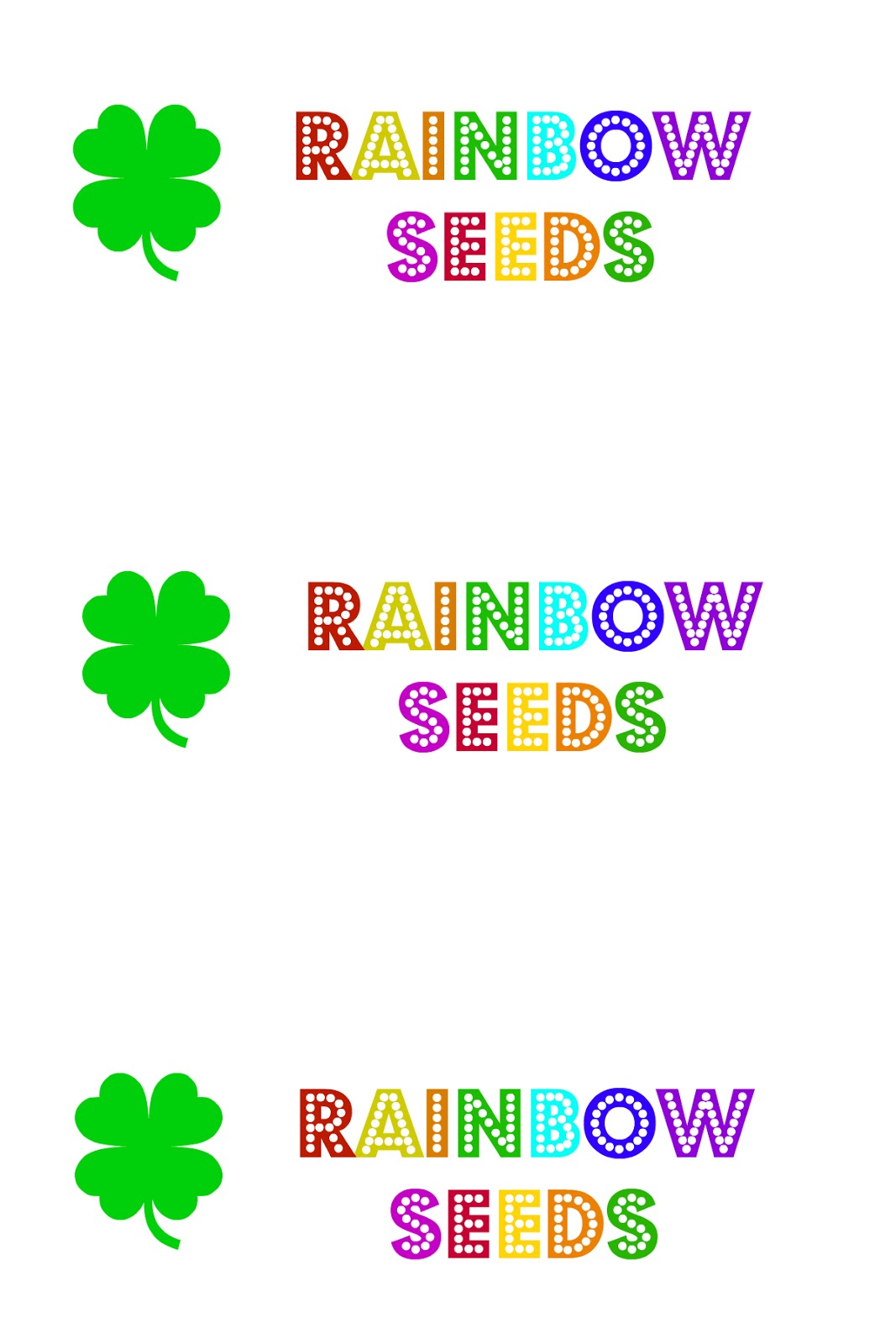 East Coast Mommy Sttrick S Day Breakfast Rainbow Seeds
