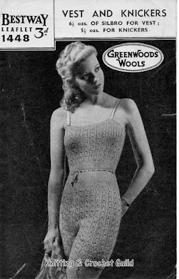 1940s vintage knitting pattern