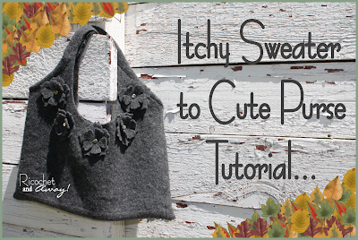 Itchy Sweater to Cute Purse