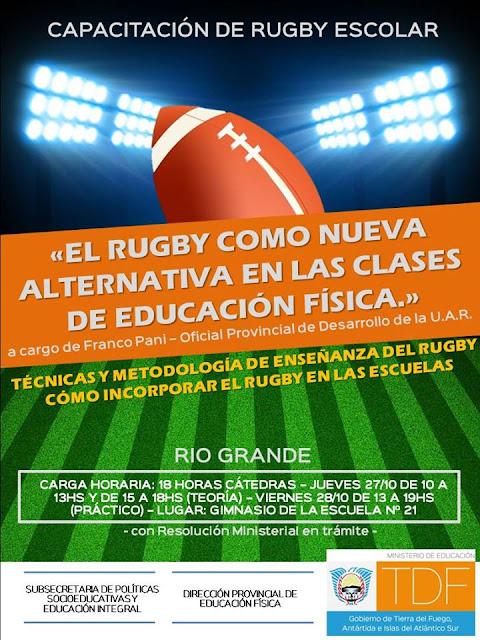 Introducción al Rugby Escolar - Río Grande