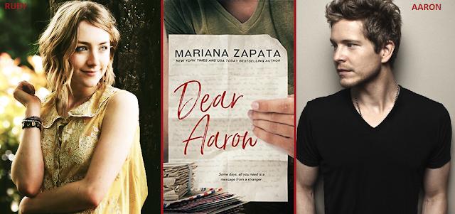 Resultado de imagem para Dear Aaron - Mariana Zapata