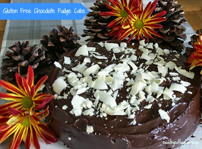 Thanksgiving Caramels and a Chocolate Fudge Cake