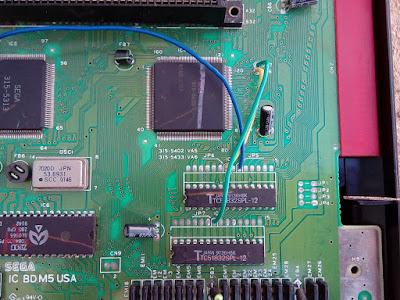 Sega Genesis - Mega Drive Americano - VDP