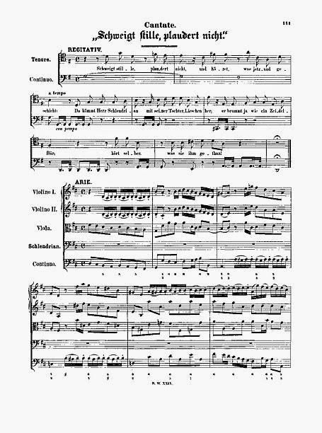 Bach y el café