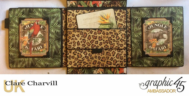 Safari Adventure Photo Wallet  3 Clare Charvill Graphic 45