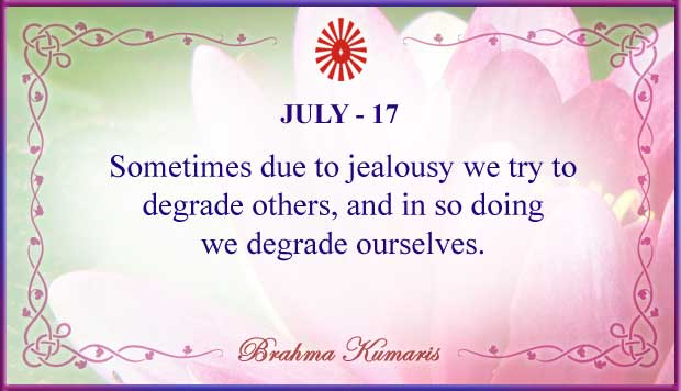 Thought For The Day July 17