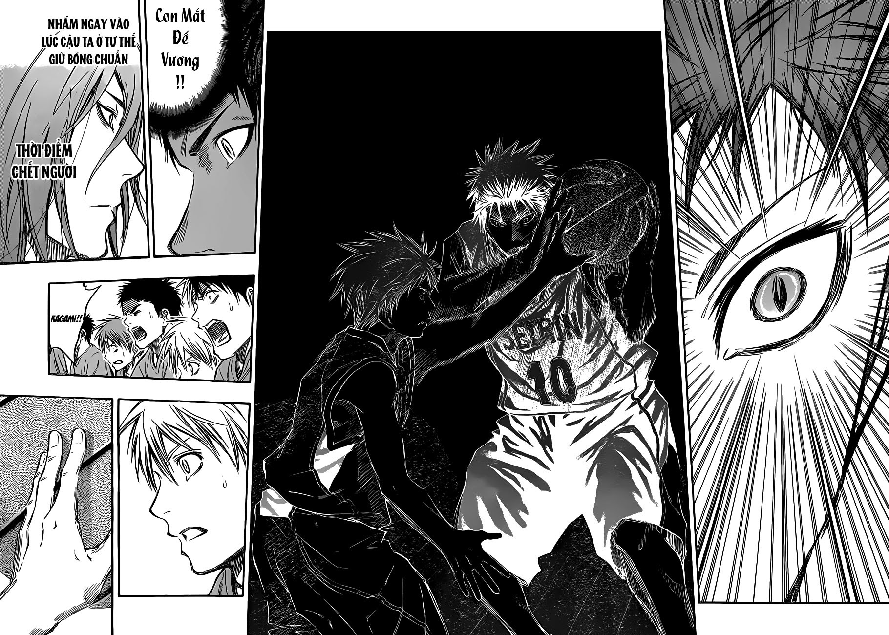 Kuroko No Basket chap 234 trang 9