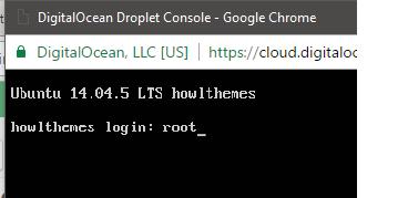 DigitalOcean Console