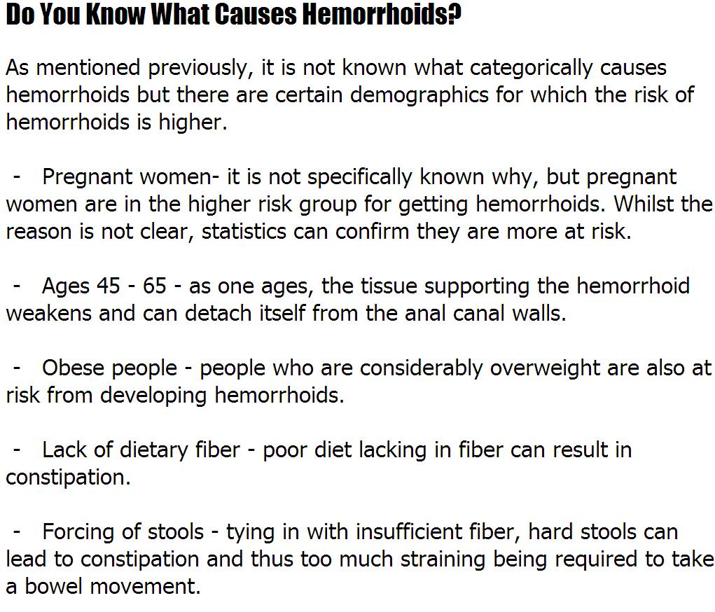hemorrhoids causes | noahauden, Human Body