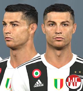 PES 2017 Faces Cristiano Ronaldo by WER Facemaker