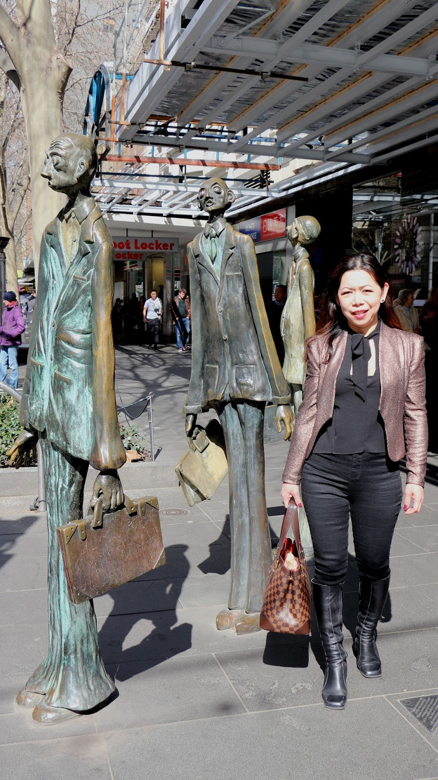 Melbourne Bronze sculptures