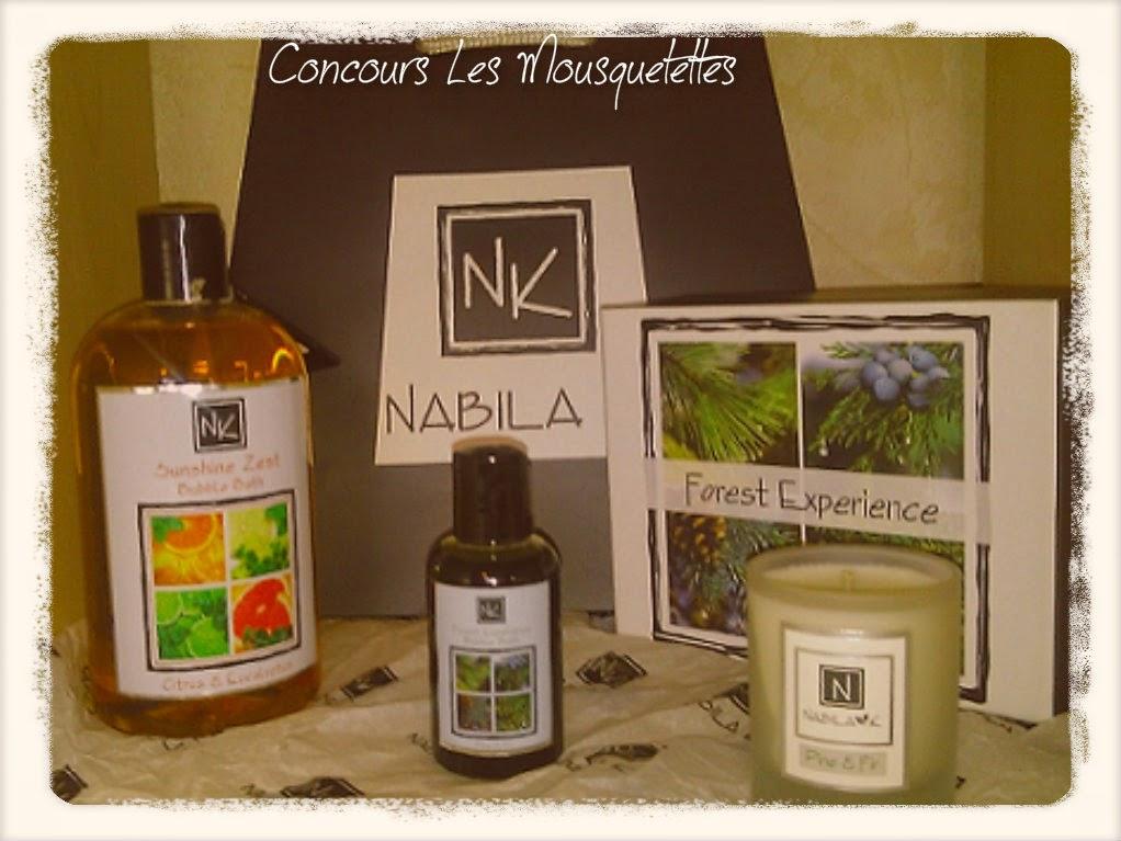 Lot #concours Nabila K - Les Mousquetettes©