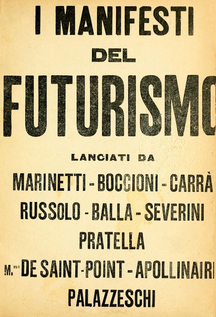 Resultado de imagen de futurismo los relampagos