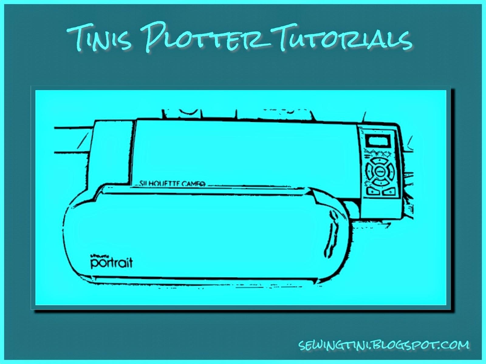 Tinis Plotter-Tutorials - Folge 4 - das Nachzeichnen