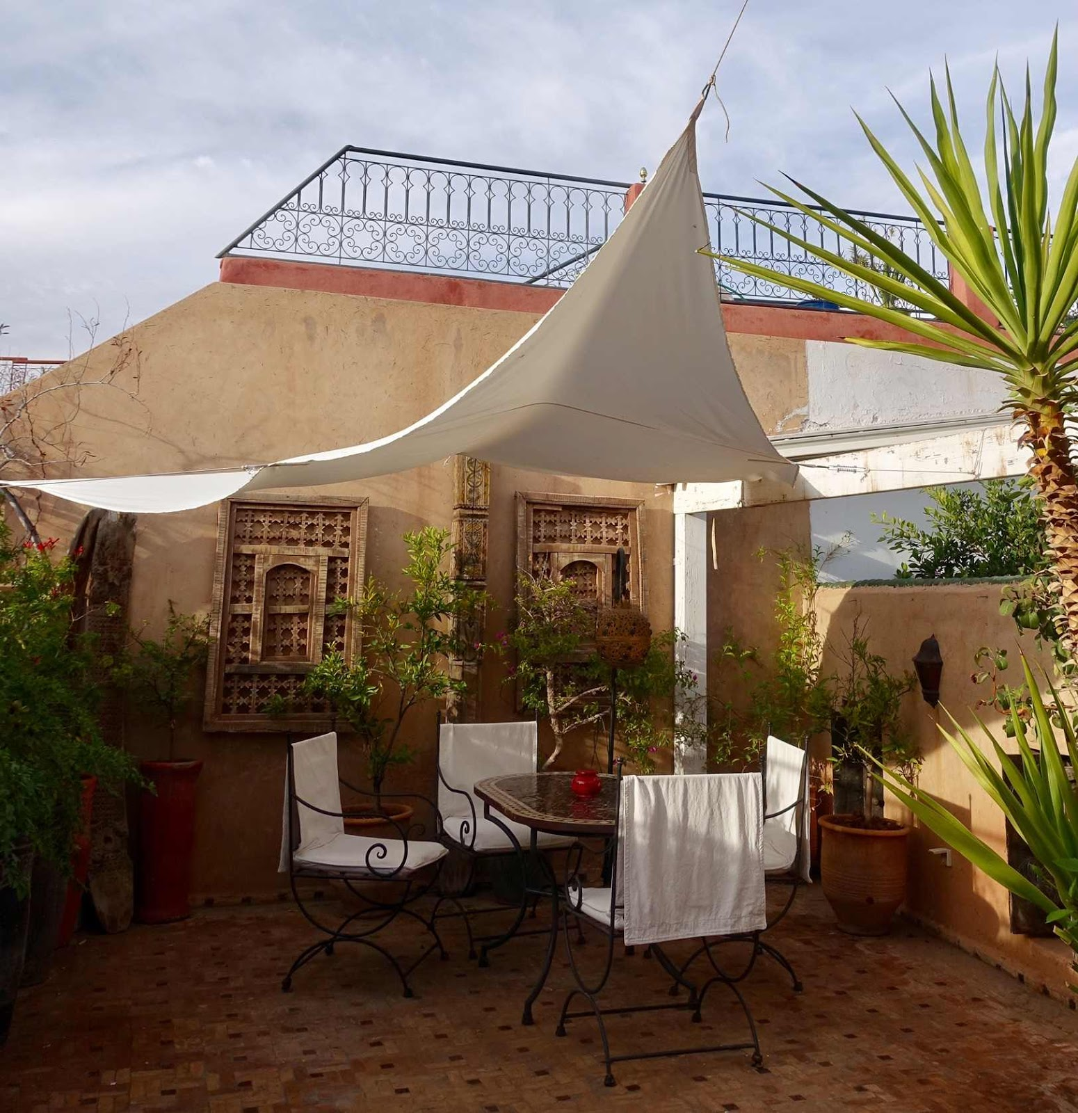 riad Marrakech, mountain view