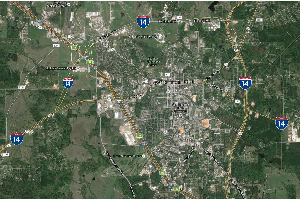Texas Prisons' Blog: Two Huntsville TDCJ Units Maybe Relocated