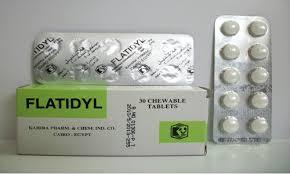 فلاتيديل Flatidyl لعلاج عسر الهضم