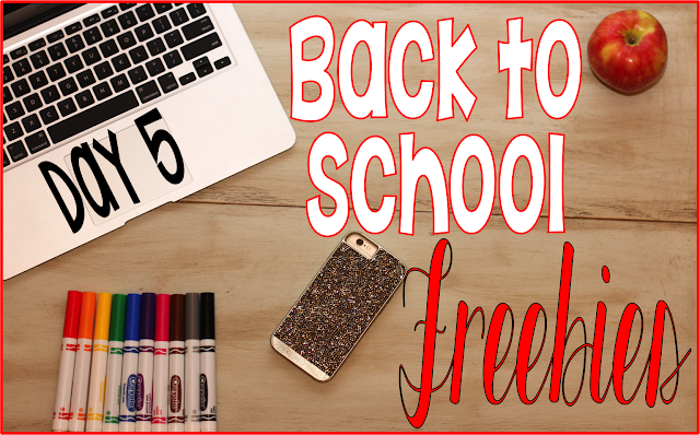 Back to School Tips and Freebies, Student information card. This is the final freebie in a week of free downloads to start your school year off.
