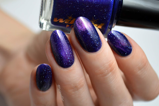 magnetic galaxy nail polish glitter swatch furious filer