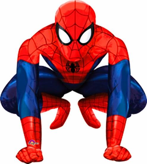 Шарик ходячая фигура Человек паук