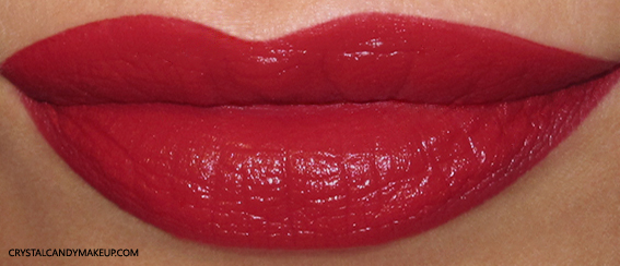Estée Lauder Pure Color Envy Matte Sculpting Lipstick Decisive Poppy Swatch