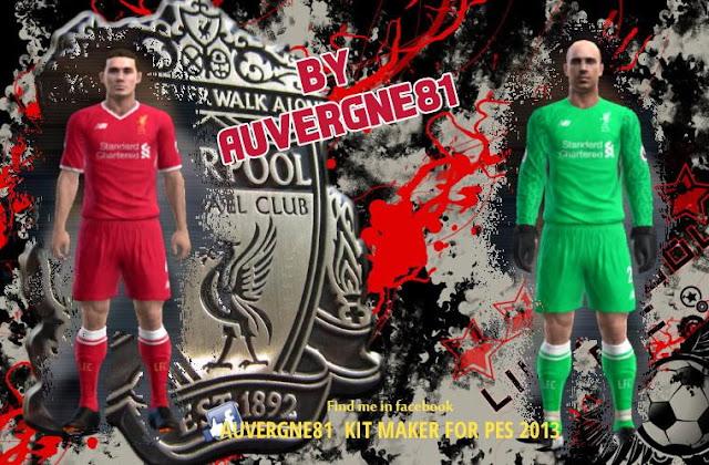 PES 2013 Liverpool 2017-18 Kits-Pack 19c56ba6e