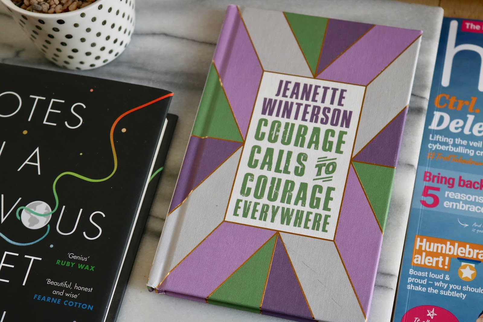 COURAGE CALLS TO COURAGE EVERYWHERE BY JEANNETTE WINTERSON