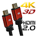 CABO HDMI 2.0 4K 3D IMAGENS COM RESOLUÇÃO MÁXIMA - 24/08/2016