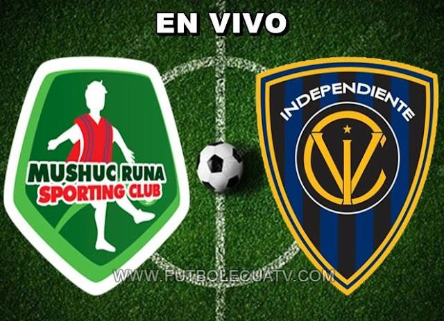 Mushuc Runa choca ante Independiente del Valle en vivo desde las 15:00 horario determinado por la comitiva a jugarse en el campo de Echaleche por la apertura de la fecha seis de la Liga Pro Ecuador, siendo el juez principal Augusto Aragón con transmisión del canal oficial GolTV.