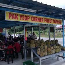 Sedapnya Pulut Durian Pak Yeop Corner