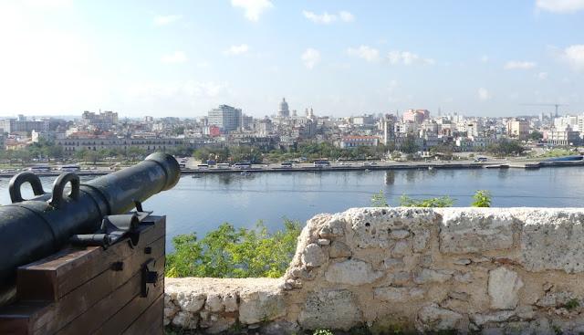 Havanna, Kuba - Blick von der Festung La Cabaña