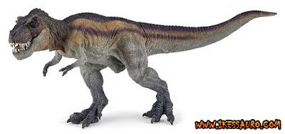 Papo Rainbow Running Tyrannosaurus
