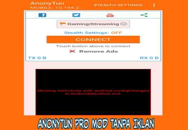 Cara Download AnonyTun Pro Mod Tanpa Iklan Apk Versi Terbaru