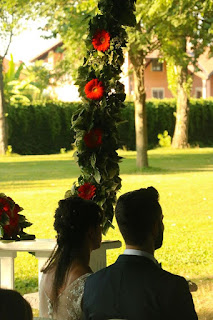 Orange Wedding Decoration - Castello dei Solaro