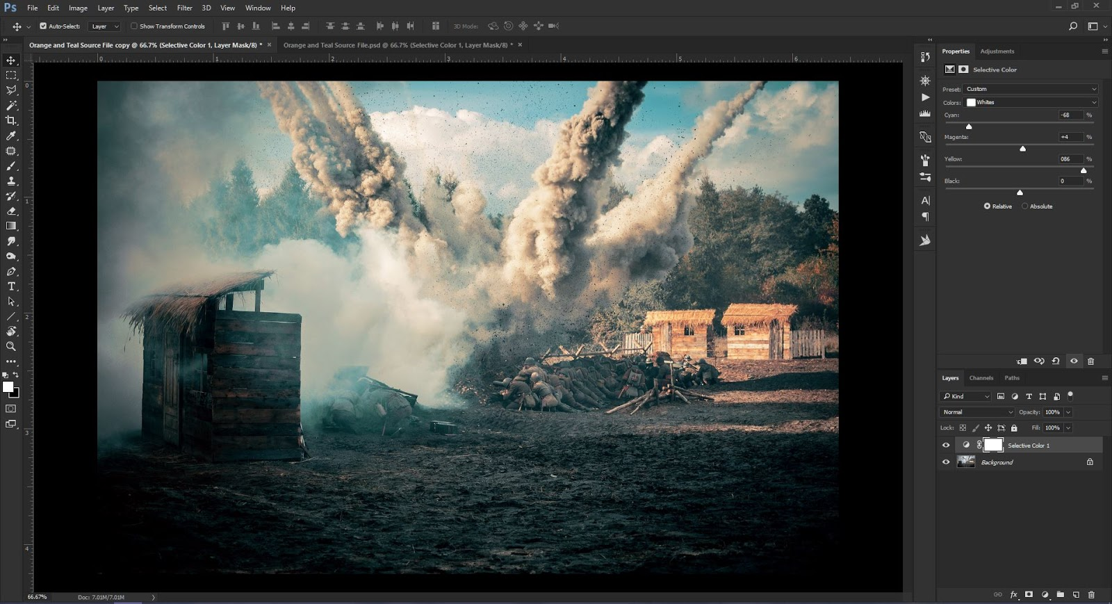 How to Achieve Cinematic Orange and Teal Color Grading Using