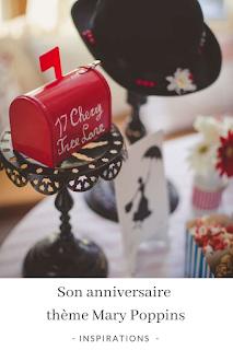 inspirations et idées décos pour un anniversaire sur le thème de Mary Poppins blog unjourmonprinceviendra26.com