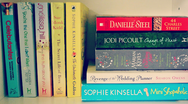 books reading sophie kinsella chic lit