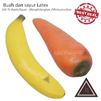 Jual alat sulap latex Banana