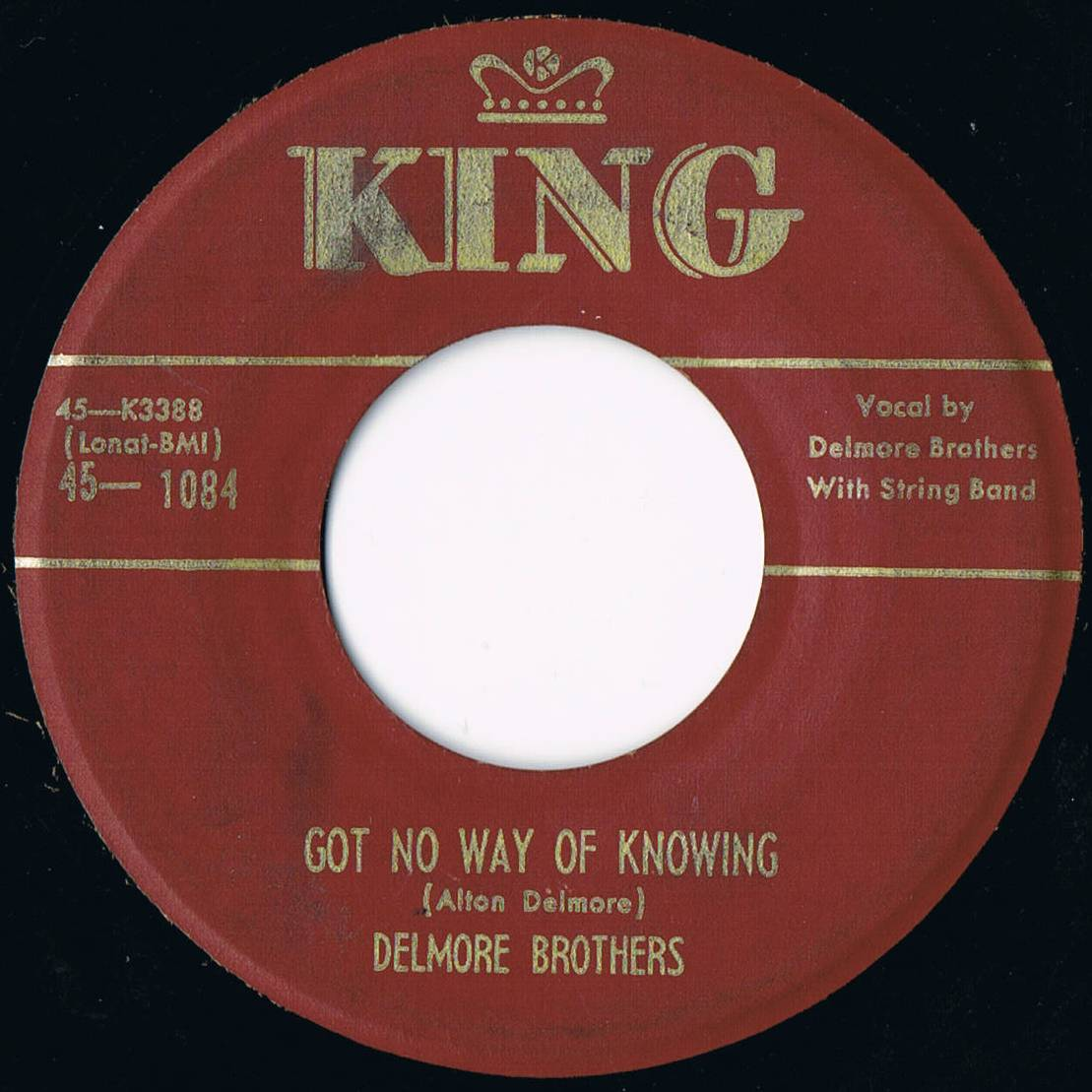 The Delmore Brothers Delmore Brothers Lonesome Yodel Blues No. 2 / Happy Hickey The Hobo