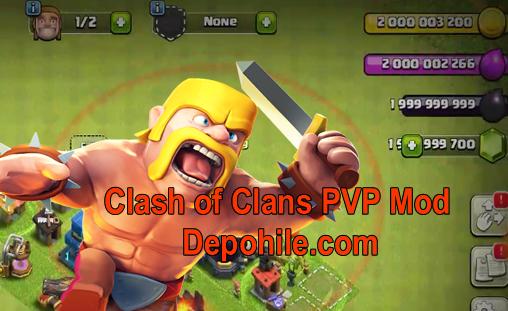 Clash of Clans Technical S1-v1 Sınırsız Hileli Apk Ekim 2018