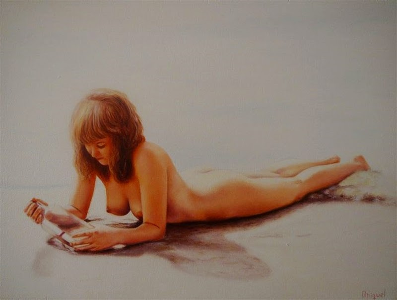 D.W.C. Nudist - Painter Miquel Bosch