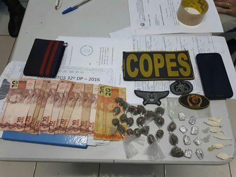 Em Piranhas, operação em conjunta com a polícia militar e civil prende dois homens por tráfico de drogas