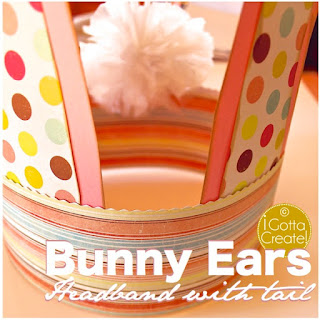 Adorable bunny crown tutorial @ I Gotta Create!