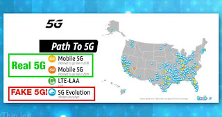 Fake 5g is rolling out