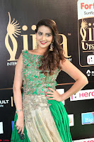 Manjusha in Beautiful Sleeveless Green Anarkali dress at IIFA Utsavam Awards 74.JPG