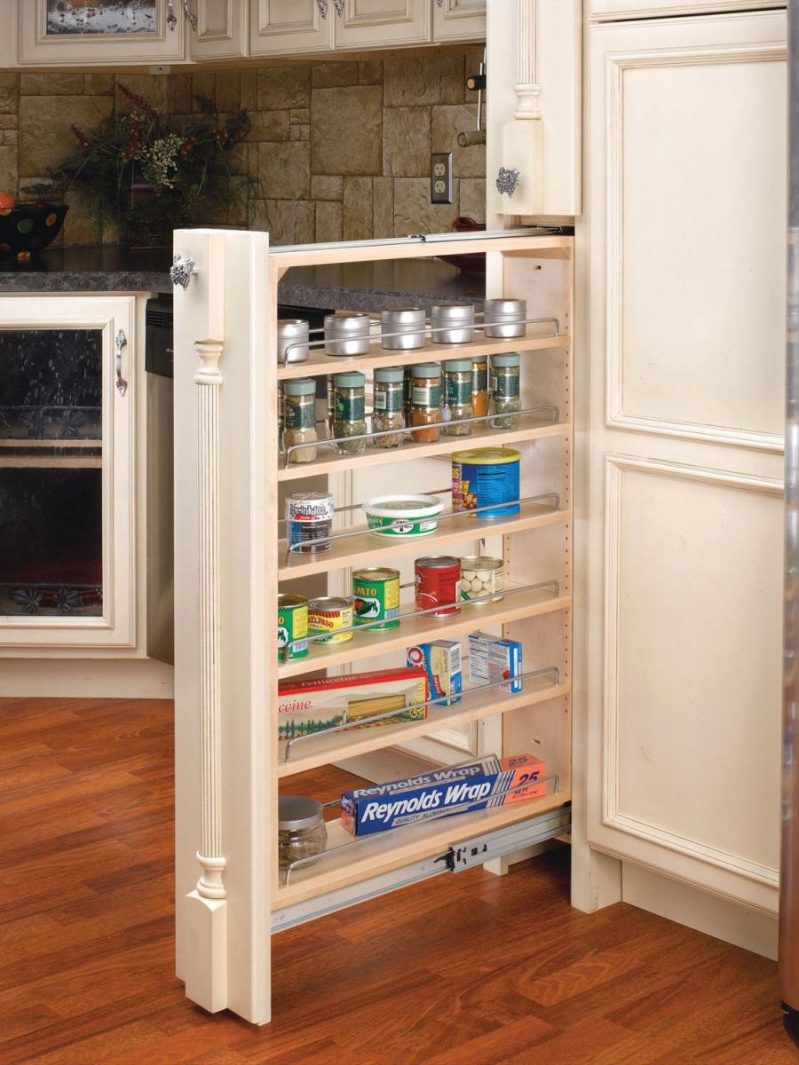 Pull Ouy Shelving For Kitchen Cabinets Available Widths