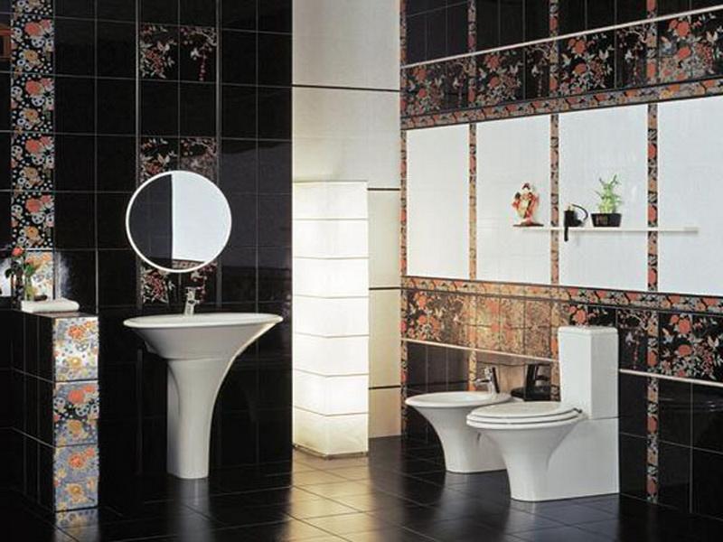 Minimalist Bathroom Tile Designs Create Fresh Ambience