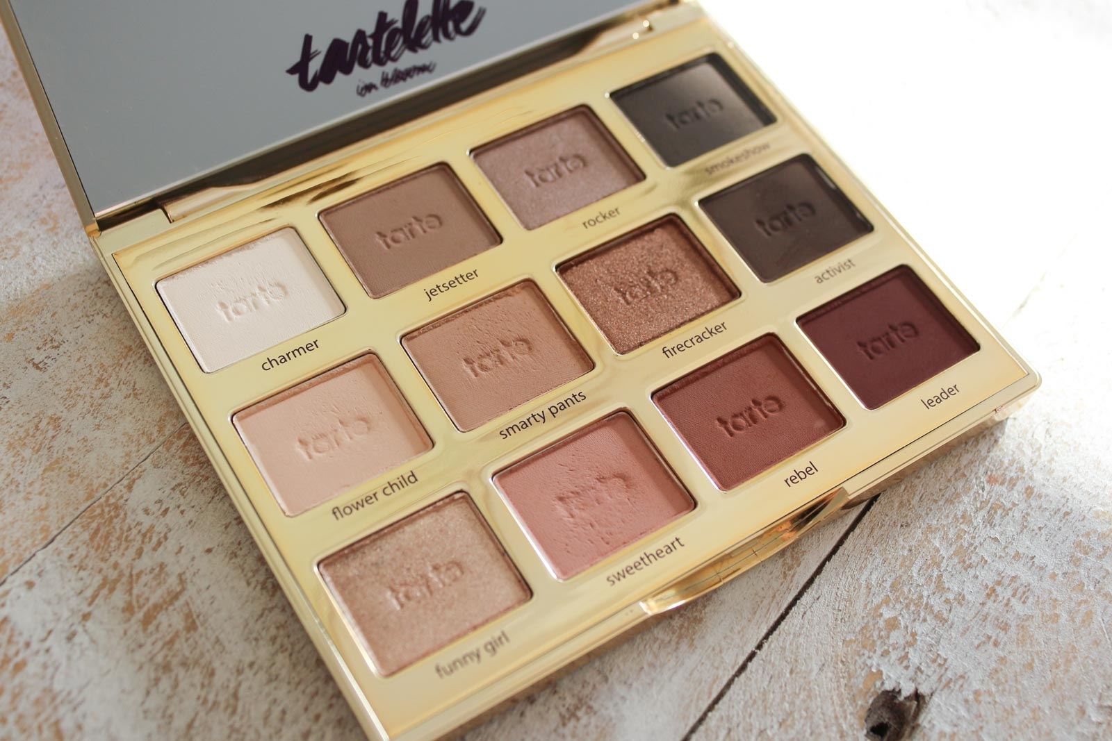 Tarte Tartelette In Bloom Clay Palette With Swatches | Cate Renée