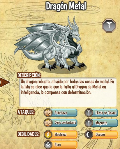 dragon metal todas sus caracteristicas